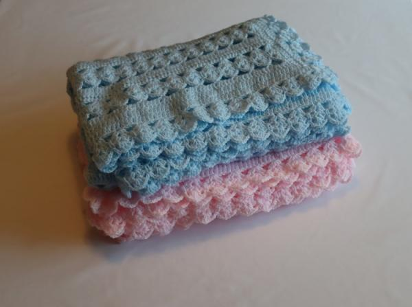 Baby Hand Knitted Blanket