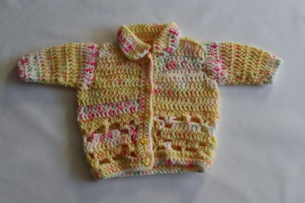 Baby Hand Knitted Cardigan