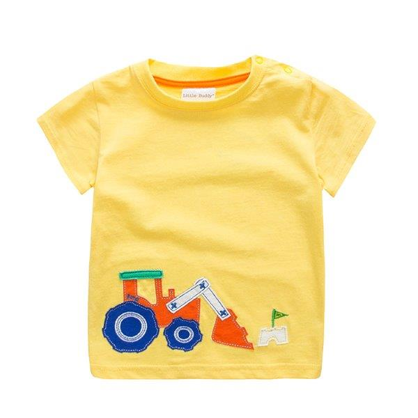 Boys T-shirt with Tractor design