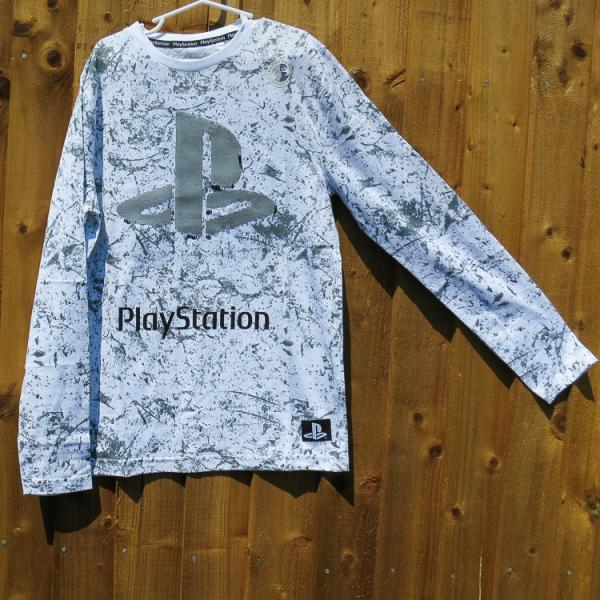 Boys Playstation Style Long Sleeved Top