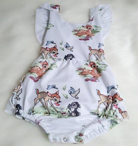 Baby Forest friends style Romper Set