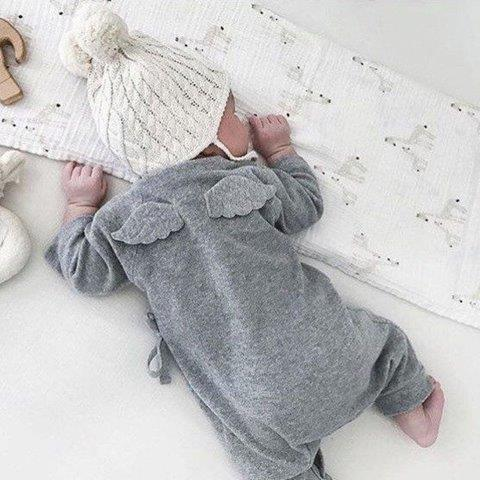 Baby Romper set with Angels Wings