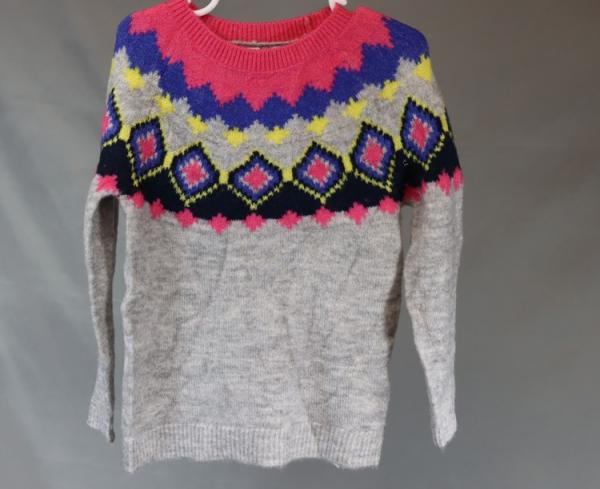 Great Value Girls Cosy Bright Coloured Sweater