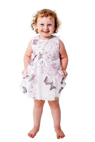 Girls Dress with detailed Butterfly Design