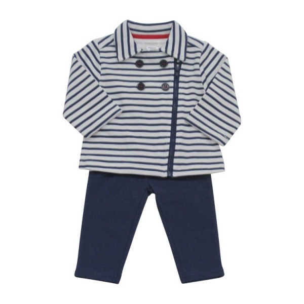 Baby Girl Leggings and Collared Jacket